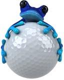 Blauer Frosch stock abbildung