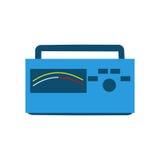 Blauer Funk Lizenzfreie Stockbilder