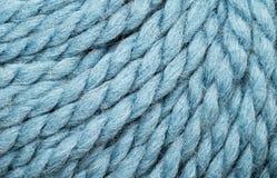 Blauer Garnabschluß oben Lizenzfreie Stockfotos