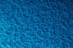 Blauer gehämmerter Metallhintergrund, abstrakte metallische Beschaffenheit, Blatt O lizenzfreies stockfoto