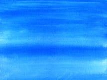 Blauer gemalter Hintergrund. Stockfoto