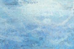 Blauer gemalter Hintergrund stockbilder