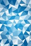 Blauer geometrict Mathehintergrund Stockfoto