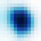 Blauer geometrischer Hintergrund Lizenzfreie Stockfotos