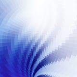 Blauer geometrischer Hintergrund Stockbilder