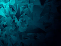 Blauer geometrischer Hintergrund 9 Stock Abbildung