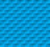 Blauer geometrischer nahtloser Hintergrund Lizenzfreies Stockfoto