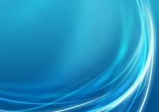Blauer Geschäfts-Hintergrund Stockfotografie