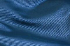 Blauer Gewebehintergrund Lizenzfreie Stockfotografie