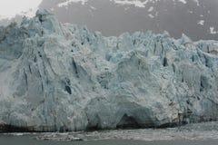 Blauer Gezeitenwasser-Gletscher Stockfoto