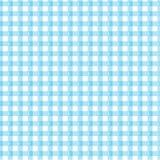 Blauer Gingham stock abbildung