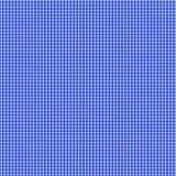 Blauer Gingham-nahtloses Muster Lizenzfreie Stockfotografie