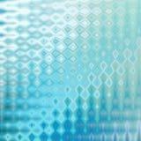 Blauer Glaseffekt lizenzfreie abbildung