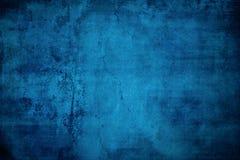 Blauer Grunge Hintergrund Lizenzfreies Stockfoto