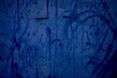Blauer Grunge Hintergrund Stockfotografie