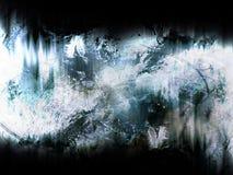 Blauer grunge Hintergrund Stockfotos