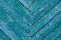 Blauer hölzerner Beschaffenheitshintergrund der Weinlese Lizenzfreies Stockfoto