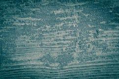 Blauer hölzerner Hintergrund Lizenzfreies Stockbild