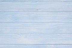 Blauer hölzerner Hintergrund Lizenzfreie Stockbilder