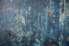 Blauer hölzerner Hintergrund der Weinlese lizenzfreie stockfotografie
