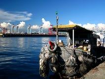 Blauer Hafen Lizenzfreies Stockfoto