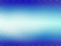 Blauer Halbtonpunkthintergrund Stockfotos