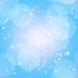 Blauer heller Hintergrund lizenzfreie stockbilder