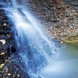 Blauer Hen Falls in Nationalpark Cuyahoga Lizenzfreies Stockfoto