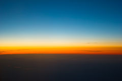 Blauer Himmel. Lizenzfreies Stockfoto