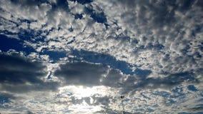 Blauer Himmel:) Stockfoto