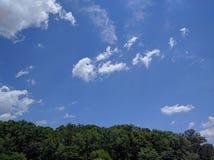 Blauer Himmel Lizenzfreies Stockbild