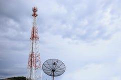 Blauer Himmel der Antenne lizenzfreie stockfotos