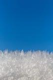 Blauer Himmel des Eiskristalls Lizenzfreie Stockfotografie
