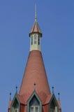 Blauer Himmel des Schlosses Lizenzfreie Stockbilder