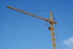 Blauer Himmel des Turmkrans Lizenzfreies Stockbild