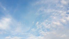 Blauer Himmel für Hintergrund Lizenzfreie Stockfotografie