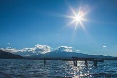 Blauer Himmel Fujis Lizenzfreie Stockfotografie