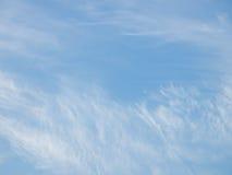 Blauer Himmel mit Wolke Stockfoto