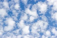 Blauer Himmel mit Wolken Lizenzfreie Stockfotografie