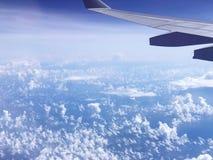 Blauer Himmel Reise zu Europa lizenzfreies stockfoto