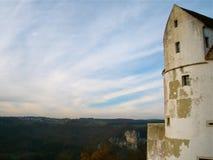 Blauer Himmel-Schloss Lizenzfreies Stockbild