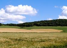 Blauer Himmel und Landschaft Lizenzfreie Stockfotografie