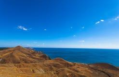 Blauer Himmel und Meer Lizenzfreies Stockfoto