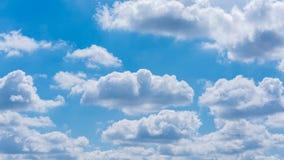 Blauer Himmel und weiße Wolken Lizenzfreie Stockfotografie