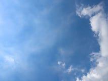 Blauer Himmel und Wolke Lizenzfreie Stockfotografie