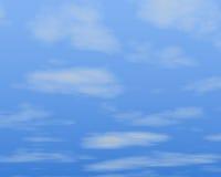 Blauer Himmel und Wolken stock abbildung