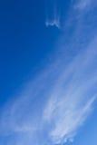 Blauer Himmel und Wolken Lizenzfreies Stockfoto
