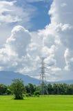 Blauer Himmel und Wolken für Hintergrund Lizenzfreies Stockbild