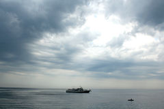 Spiel der Wolken lizenzfreie stockfotografie