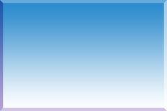 Blauer Hintergrund 3d Stockfotografie